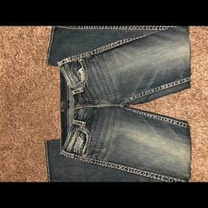 Silver , Aiko style jeans